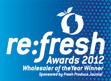 re:fresh 2012 Wholesaler of the Year